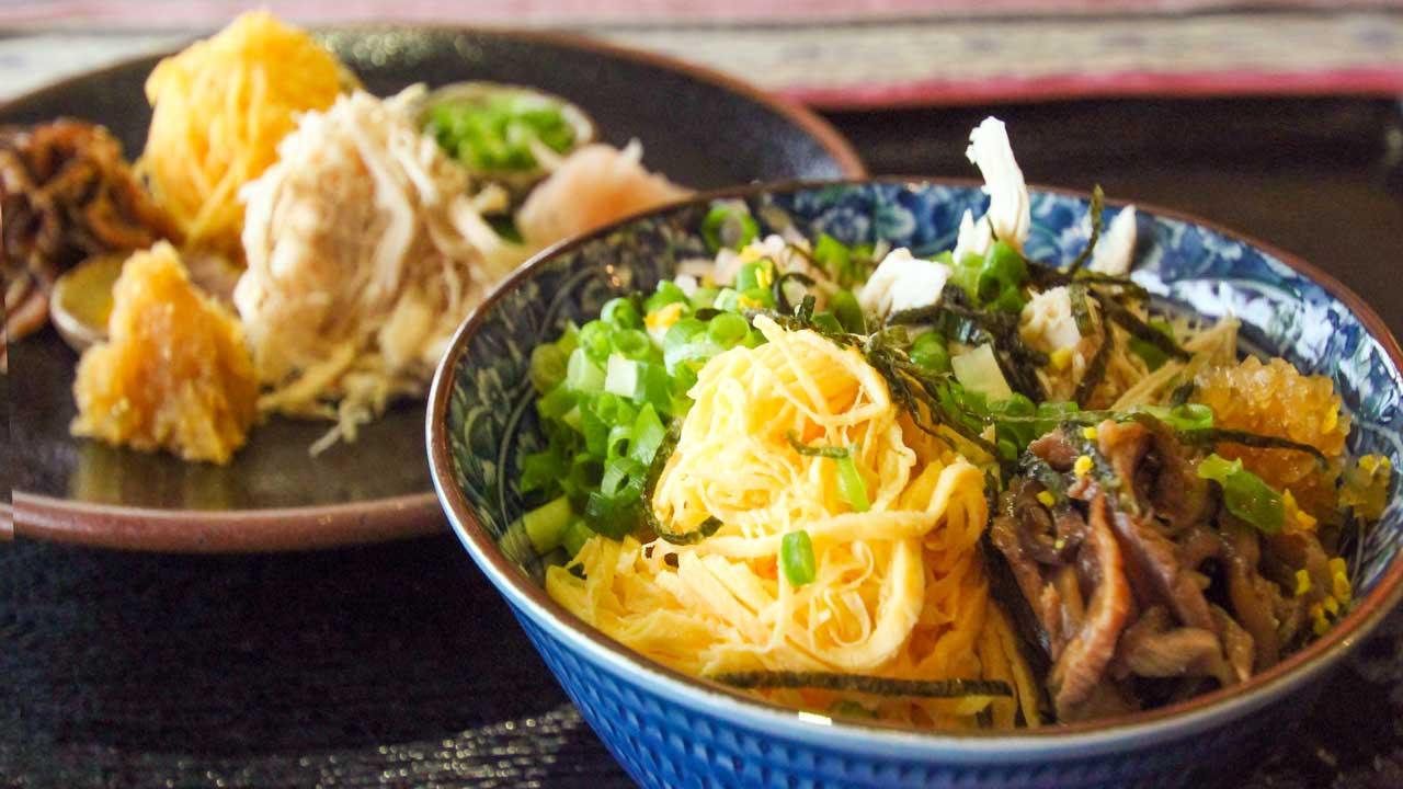 奄美の郷土料理、鶏飯を食べよう!