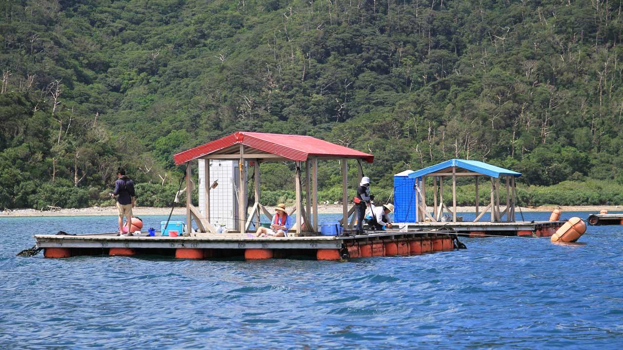イカダ釣りで、竿を通して自然と触れ合おう!