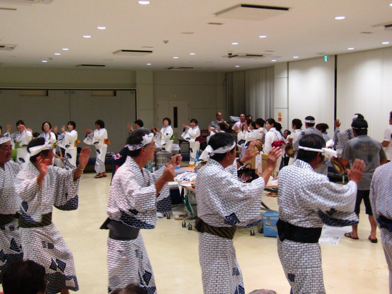 (日本語) 八月踊り体験